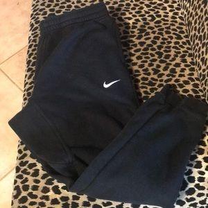 Nike Black sweat joggers